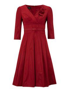 Hobbs Maze Dress, Garnet. Wear this for dinner?
