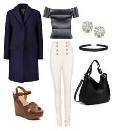 A Day in the Life by that1alexandra on Polyvore featuring polyvore, fashion, style, Miss Selfridge, MSGM, Balmain, Chinese Laundry, Auriya, Humble Chic and clothing
