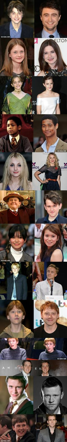 fred and george look the same as when they wer kids