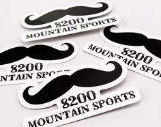 8200 Mountain Sports Stickers