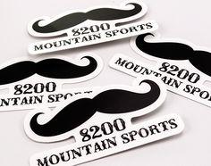 8200 Mountain Sports Stickers