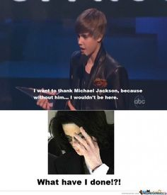 Because we all love to hate Justin Bieber. Lulz.
