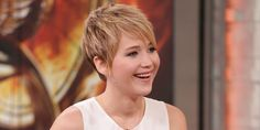 Jennifer Lawrence New Hairstyle | Jennifer Lawrence: CNN Haircut Alert Was 'Weirdest Thing' Ever (VIDEO)