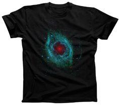 Men's Helix Nebula T-Shirt - Cool Hubble Astronomy Shirt. $25.00 from #Boredwalk, plus free U.S. shipping! Click to purchase!