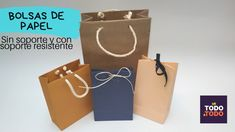 👉Cómo hacer BOLSAS DE PAPEL?  🔷PARTE 1: Sin soporte; 🔷PARTE 2: Con SOPOR... Birthday Decorations, Wraps, Packaging, Scrapbook, Paper, Cameron Boyce, Ideas, Scrappy Quilts, Paper Bag Crafts