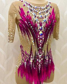 Rhythmic Gymnastics Leotards, Costumes, Acro, Style, Fashion, Pink, Costume Design, Facts, Models