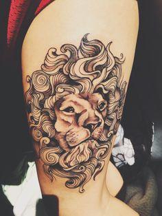 lion tattoo | #tattoo #ink