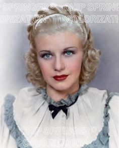 5 DAYS! 8X10 GINGER ROGERS 1935 PORTRAIT STUNNING COLOR PHOTO BY CHIP SPRINGER. Please visit my Ebay Store at http://stores.ebay.com/x5dr/_i.html?rt=nc&LH_BIN=1 to see the current listings of your favorite Stars now in glorious color! Message me if   you would like me to relist your favorites. Check out my New Youtube videos at https://www.youtube.com/channel/UCyX926rA5x4seARq5WC8_0w