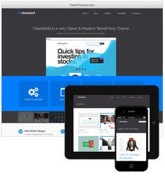 CleanPort WordPress Theme