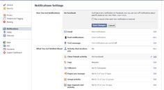 How To Disable Facebook Sound Notifications ?