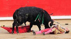 Clarín HD - LE TOCO AL TORERO. El torero peruano Andrés Roca...