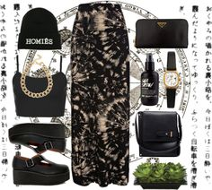 """homies"" by decayy ❤ liked on Polyvore"