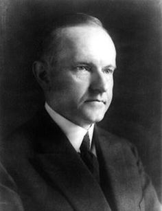 History today August 3, 1923 At 2:30 in the morning, while visiting in Vermont, Calvin Coolidge received word that Warren G. Harding was dead and he was now President. By the light of a kerosene lamp, his father, who was a notary public, administered the oath of office as Coolidge placed his hand on the family Bible.