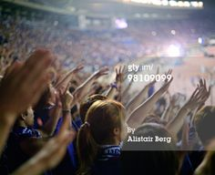 High-Res Stock Photography: Japanese football fans
