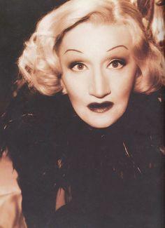 Thelma Aucoin as Marlene Dietrich