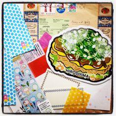 From Japan. Gotochi card Hiroshima.
