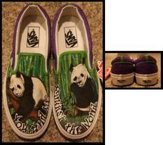 cute panda shoes