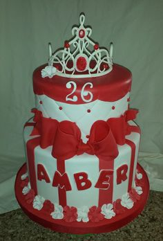Princess birthday cake |  Mick's Sweets -  Flickr - Photo Sharing!