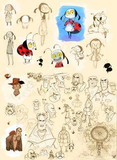 Ladybug and Explorer - Character development