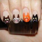 Aprenda fazer unhas decoradas com gatinhos - Site de Beleza e Moda
