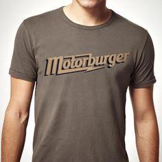 Motor Burger tee