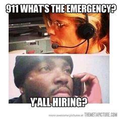 Ghetto job hunting…