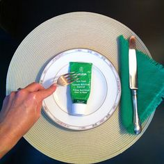Weleda Skin Food. Great for rough cracked hands and feet