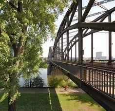 Deutschherrnbrücke Frankfurt