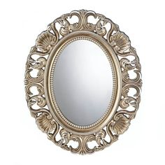 Gilded Oval Wall Mirror – MNM Gifts