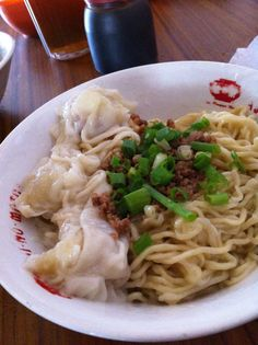 Mie Pinangsia or Pinangsia Noodle, Pasar Gede, Solo, Central Java, Indonesia