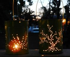 Fun Summer Nights Call for Tin Can Lanterns   Fox News Magazine