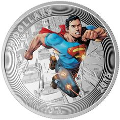 Silver Coin Price: The Beautiful Fine Silver Coin of 2015 $20 Iconic Superman TM Comic Book Covers: Action Comics 1 (2011). Price CAD: 109.95