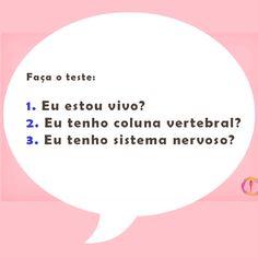 Se a resposta é sim pra pelo menos uma pergunta, então vc precisa passar com um Quiropraxista! #fluirquiropraxia