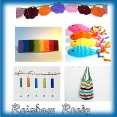 Rainbow Ready by joliefemmefashions on Polyvore featuring art