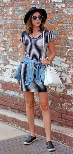 tenis com vestido