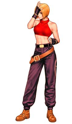 Blue Mary from King of Fighters '99.