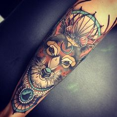 Amazing fox tattoo - 50+ Examples of Fox Tattoo  <3 <3