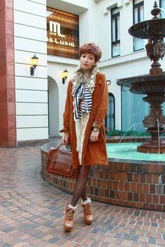 fashionable japanese girl