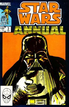 Star Wars Annual 3: The Apprentice is the third and final annual issue in the Marvel Star Wars series of comic books. When a young boy hoping to become a Jedi Knight finds no encouragement from Luke Skywalker, Darth Vader welcomes him to the Dark Side of the Force. An allegory of space, power, and human nature crafted by Jo Duffy, scripter; and Klaus Janson, pencils, inks and colors.