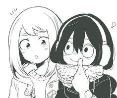 Uraraka Ochako & Tsuyu Asui