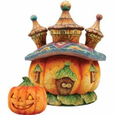 Indoor Halloween Decor Pumpkins Surprise Figurine Pride Secret Box By G Debrekht…