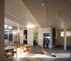 São espaços lúdicos, cheio de estímulos para as crianças, e de oportunidades para brincar e usar a imaginação.