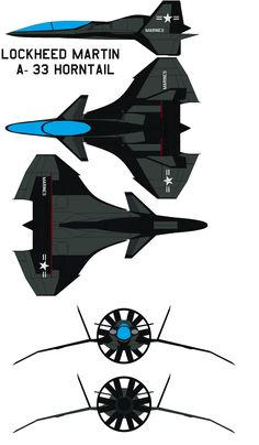Lockheed Martin A-33 Horntail scout Trainer ATTACK by bagera3005.deviantart.com on @deviantART