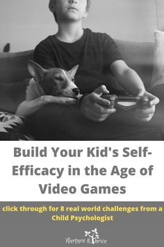Is your child a little too obsessed with video-games? Could they be falling into the trap of finding self-worth, a sense of mastery, and self-confidence in virtual worlds? Build their self-efficacy by turning up the challenge in real-life. Go outside and build a fire. Go into the kitchen and learn some knife skills. Growing up in the digital age is all about balance. Click for 8 real-world challenges! #parentinginthedigitalage #videogameobession #selfefficacyforkids #lifeskillsforkids Kids And Parenting, Parenting Hacks, Screen Time For Kids, First Time Dad, Self Efficacy, Positive Discipline, Building For Kids, Always Learning, Child Development