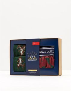 PUTASOCKINITUnderwear and Socks Set Joules Christmas Wish List