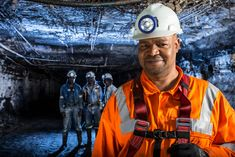 On the job underground - miners at work at Jindal #underground #miner #mining #face #portrait #Jindal