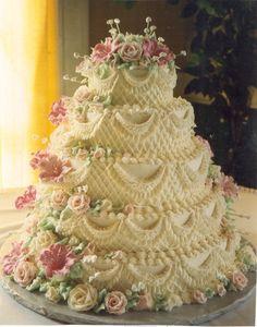 decoracion de pastel de bodas