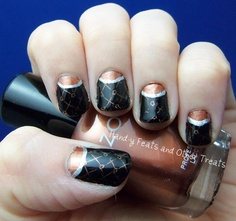 Hand-y Feats and Other Treats: 31 Day Challenge! Day 18: Half Moons