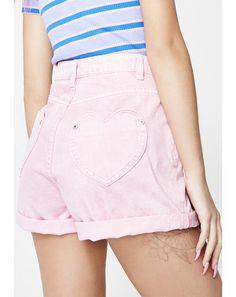 64c0560241c53 I Heart Pink Mom Shorts  dollskill  lazyoaf  newarrivals  dresses  coco