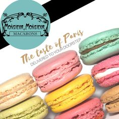 Monsieur Monsieur Macarons in the mail